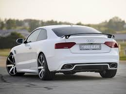 rieger audi rieger rs5 kit rear diffuser for audi a5 and s5 b8 5