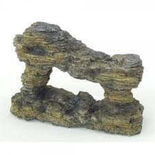 ppi sculptured rock aquarium fish tank decoration ornament ppi
