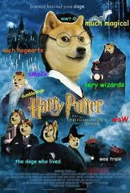 The Doge Meme - jake shore on doge harry potter and memes
