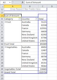 how to do a pivot table in excel 2010 multi level pivot table in excel pivot table and microsoft excel