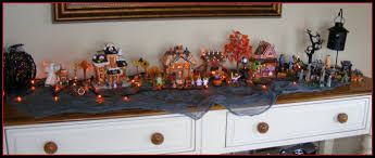 miniature halloween village halloween town u0026 decoration patricia u0027s pages