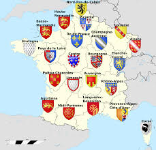 Different Types Of Maps France Regions Before The Reform Maps Pinterest France