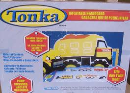 amazon com tonka brand inflatable dump truck twin size headboard