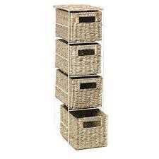 White Wicker Bathroom Storage Wicker Shelves For Bathroom 3 Tier Storage Bathroom Storage Unit