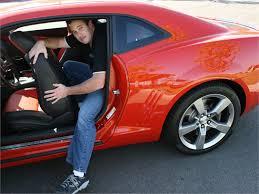 chevrolet camaro back seat living with the 2010 chevrolet camaro ss autobytel com