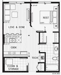 layout of house historic shed tiny cottage floor plan 320 sq ft 16 x 20