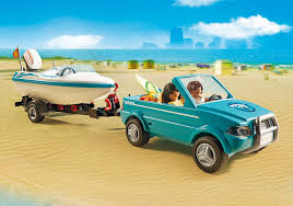 surfer pickup with speedboat 6864 playmobil latvia