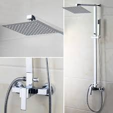 aliexpress com buy us bathroom shower faucet wall mounted bath aliexpress com buy us bathroom shower faucet wall mounted bath shower mixer tap 52004 torneira do chuveiro with hand shower rain shower faucet from