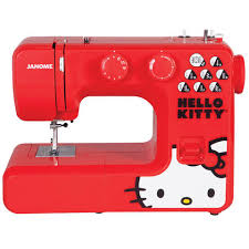 13512 hello kitty sewing machine by janome red joann