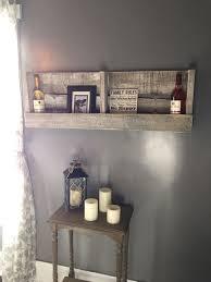 Wooden Shelf Diy by Best 20 Pallet Shelves Ideas On Pinterest Pallet Shelving