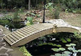 small garden bridge how to build a landscape bridge small garden bridges 9 crafty how