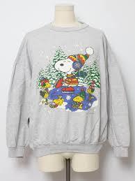 snoopy christmas sweatshirt nineties peanuts christmas snoopy sweatshirt 90s authentic