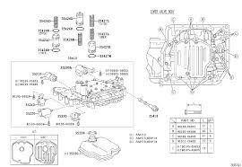 toyota alphard g vanh10w pfpgk powertrain chassis valve body