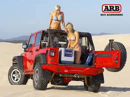 lifted jeep bandit wrangler arb off road pinterest