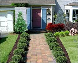 amazing of landscaping ideas for front of home front yard
