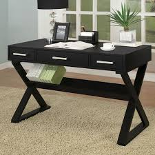 rectro desk in black or white by coaster furniture office
