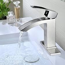 deck plate for kitchen faucet purelux gibbon contemporary design one handle bathroom sink faucet