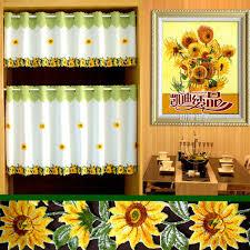 online get cheap sunflower kitchen curtains aliexpress com