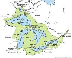 map of michigan lakes michigan has large shale gas reserves in the great lakes
