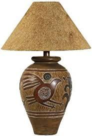 indian deer southwest table lamp amazon com