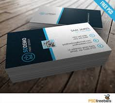 Best Visiting Card Designs Psd Cool Modern Corporate Business Card Template Free Psd Download