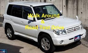 mitsubishi pajero 2000 walk around u0026 test drive 2000 mitsubishi pajero io pearl package