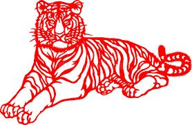 zodiac of tiger year stock illustration illustration of