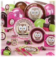 1st birthday party supplies owl birthday party supplies and ideas if i a baby girl