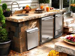 how to build an outdoor kitchen island extraordinary kitchen sink build outdoor ideas how to build a