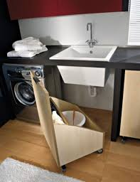 diy utility sink cabinet creative under sink storage ideas laundry rooms laundry and sinks