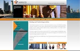 vasco trading u0026 contracting home website designing qatar