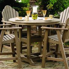 Bar Height Patio Dining Set by Berlin Gardens Round 48 In Table Dining Counter Or Bar Height