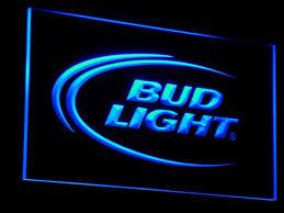 bud light light up sign bud light beer light up sign bar signs and decorations light signs