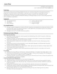Document Control Resume Sample Accounting Resume Samples India Cpa Resume Templates