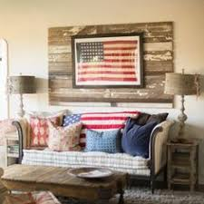 american flag home decor 15 impressive rooms that boast patriotic decor lakes decorating