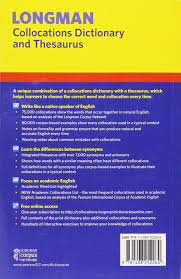 Thesaurus Beautiful by Longman Collocations Dictionary And Thesaurus Paper With Online