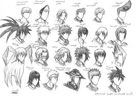 spiky anime hairstyles awesome ways wiki how to draw anime hair male spiky pict for style