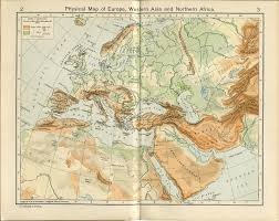 Labeled Map Of Europe Historical Atlas By William R Shepherd Perry Castañeda Map