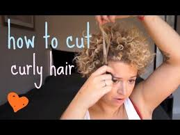 how to cut your own curly hair in layers curls how to cut short curly hair yourself at home i