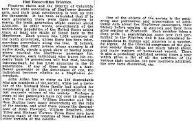 mayflower passenger list u0026 descendants genealogybank