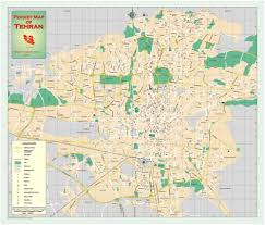 Driving Maps Tehran Map