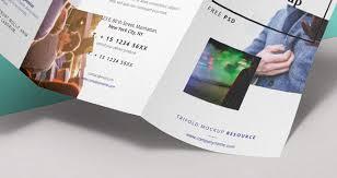 brochure psd template 3 fold psd tri fold mockup template vol8 psd mock up templates pixeden
