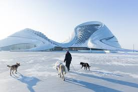 Winter House Iwan Baan U0027s Photographs Of The Harbin Opera House In Winter