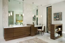 phoenix bathroom vanity with makeup contemporary wooden vessel