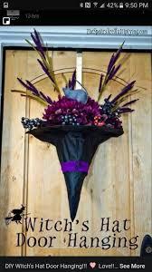 witches hat door hanger halloween pinterest witches