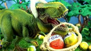 dinosaur easter eggs tyrannosaurus rex easter eggs song schleich