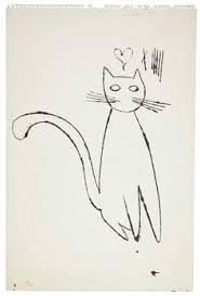 andy warhol 1928 1987 american the great cat