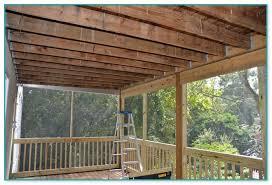 deck ceiling ideas