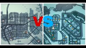 Map Of New Orleans Area by Gangstar Vegas Map Vs Gangstar New Orleans Map Youtube