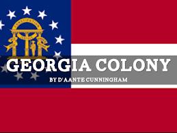 Georgia Flag Copy Of Georgia Colony By Angela Ellenberger